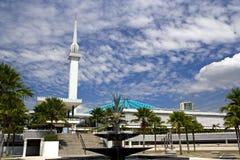 Moschea nazionale della Malesia Immagini Stock Libere da Diritti