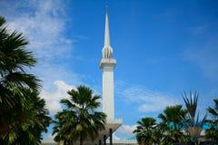 Moschea nazionale, Kuala Lumpur, Malesia Fotografia Stock Libera da Diritti
