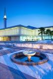 Moschea nazionale malese Immagini Stock