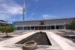 Moschea nazionale Malesia fotografie stock