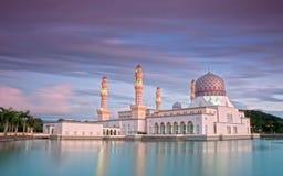 Moschea nel Borneo del nord Fotografia Stock