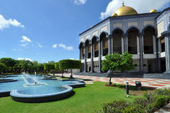 Moschea nel Brunei fotografia stock