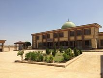Moschea nel erbil Fotografie Stock
