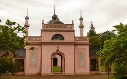 Moschea nel giardino del castello del ` s di Schwetzingen, Germania Fotografie Stock Libere da Diritti