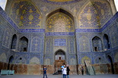 Moschea nell'Iran, Esfahan Immagine Stock