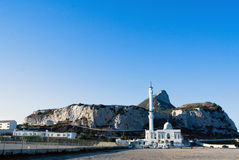Moschea nella roccia della Gibilterra Fotografia Stock Libera da Diritti