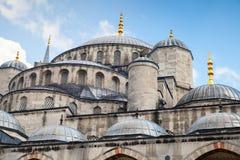 Moschea o Sultan Ahmed Mosque blu, Costantinopoli Fotografia Stock
