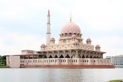 Moschea Putrajaya di Putra Fotografie Stock Libere da Diritti