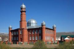 Moschea rossa Immagine Stock