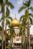 Moschea Singapore del sultano Fotografie Stock Libere da Diritti