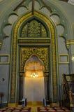 Moschea Singapore del sultano del posto adatto di preghiera del mihrab Fotografie Stock