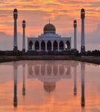 Moschea in Songkhla Tailandia Immagini Stock Libere da Diritti
