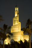 Moschea a spirale Doha fotografia stock libera da diritti