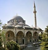 Moschea storica di era dell'ottomano a Costantinopoli Fotografia Stock