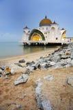 Moschea su acqua Fotografia Stock