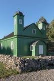 Moschea tartara di legno in Kruszyniany, Polonia Fotografia Stock
