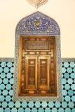 Moschea verde nella città di Bursa Fotografie Stock Libere da Diritti