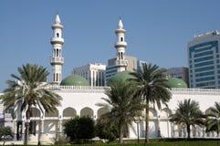Moschee in Abu Dhabi Stockfoto