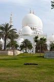 Moschee in Abu Dhabi stockfotografie