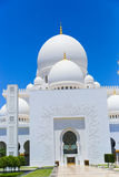 Moschee - Abu Dhabi - Shaiekh Zayed Stockbild