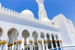 Moschee - Abu Dhabi - Shaiekh Zayed Lizenzfreies Stockbild