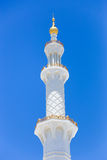 Moschee - Abu Dhabi - Shaiekh Zayed Lizenzfreie Stockbilder