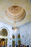 Moschee - Abu Dhabi - Shaiekh Zayed Stockbilder