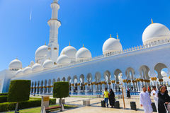 Moschee - Abu Dhabi - Shaiekh Zayed Stockfotos