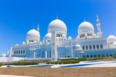 Moschee - Abu Dhabi - Shaiekh Zayed Stockfoto