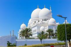 Moschee - Abu Dhabi - Shaiekh Zayed Lizenzfreies Stockfoto