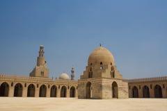 Moschee Ahmed-Ibn Tulun in Kairo, Ägypten Stockbild