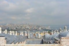 Moschee - Altbau Stadtbild Istanbuls sehr Lizenzfreies Stockbild