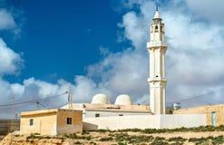 Moschee bei Ksar Ouled Soltane nahe Tataouine, Tunesien Lizenzfreies Stockfoto