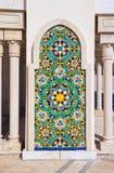Moschee Casablanca Hassan-II Stockbild