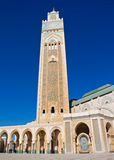 Moschee Casablanca Hassan-II Lizenzfreies Stockfoto