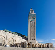 Moschee Casablanca Hassan-II Lizenzfreie Stockfotos