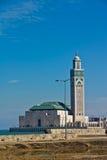 Moschee Casablanca Hassan-II Lizenzfreies Stockbild