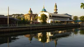 Moschee Darul Muttakin in Bangkok, Thailand stock video footage