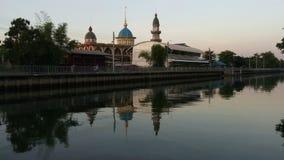 Moschee Darul Muttakin in Bangkok, Thailand stock footage
