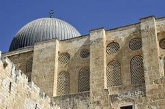 Moschee in der alten Stadt von Jerusalem. lizenzfreie stockfotografie