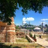 Moschee di Costantinopoli in Zeyrek Immagine Stock Libera da Diritti