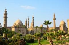 Moschee di Rifai e di Sultan Hassan fotografia stock libera da diritti