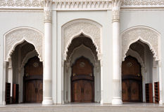 Moschee-Eingang in Scharjah Lizenzfreies Stockfoto