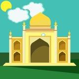 Moschee Gebäude von Mittlerem Osten Lizenzfreie Stockfotografie