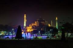 Moschee Hagia Sophia in Istanbul, die Türkei lizenzfreie stockfotos