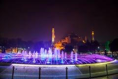 Moschee Hagia Sophia in Istanbul, die Türkei stockfotografie