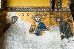 Moschee Hagia Sophia in Sultanahmet-Quadrat, Istanbul, die Türkei Stockbild