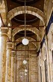 Moschee-Halle Stockfotos