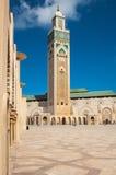 - Moschee Hassan II lizenzfreie stockbilder