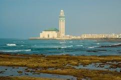 Moschee Hassan II in Casablanca Stockfotografie